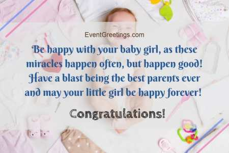 imágenes de newborn baby girl wishes messages