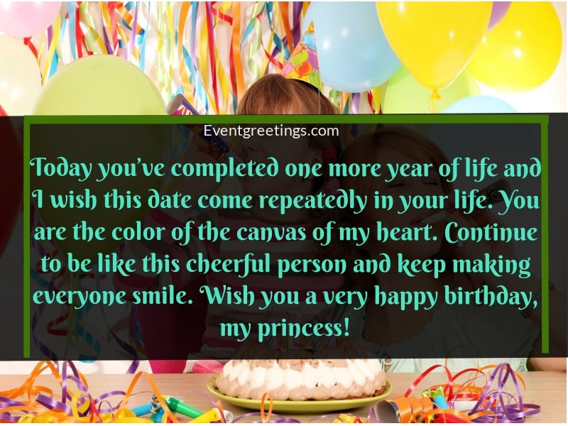 55 Lovely Birthday Wishes For Granddaughter