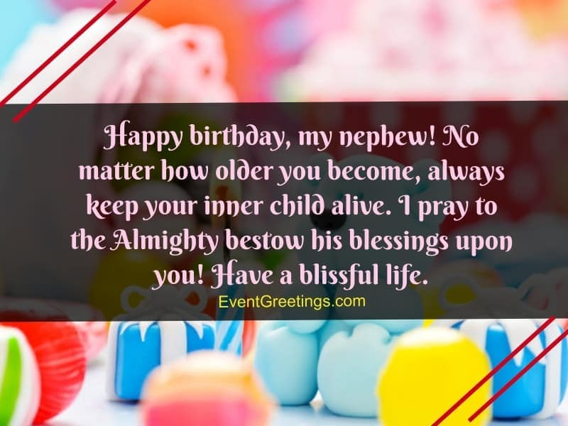 70 Exclusive Happy Birthday Nephew Wishes And Quotes With Blessings