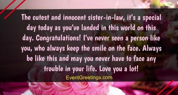 45 Best Birthday Wishes And Quotes For Sister In Law To Express Unconditional Love Events
