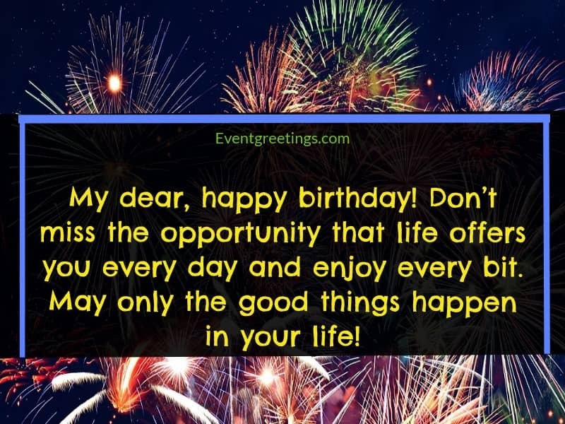 35 Best Birthday Wishes For Someone Special Events Greetings