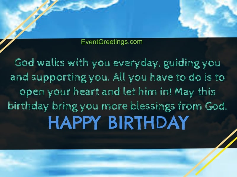 55 Religious Birthday Wishes Happy Birthday Blessings
