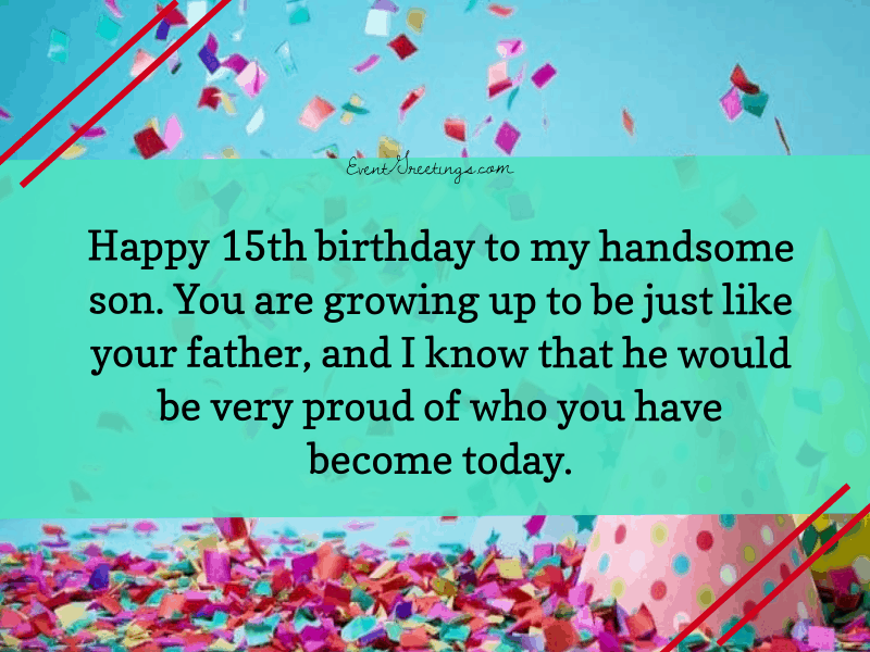 35 Best Happy 15th Birthday Wishes For Beloved One