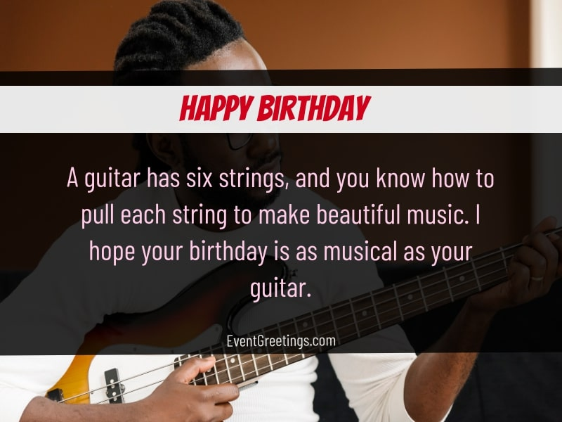 Happy Birthday Drummer Pianist Guitarist Wishes For Musicians