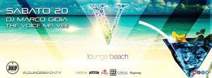 V Lounge Beach Ostia Discoteca sabato 20 Agosto 2016