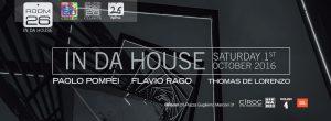 Discoteca Room 26 Roma inaugurazione sabato 1 ottobre 2016