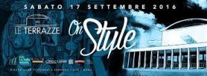 Le Terrazze discoteca Roma sabato 17 On Style Lista Globo e Privè