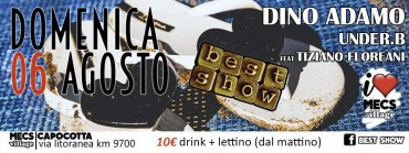 Best Show festa in spiaggia Ostia domenica 6 agosto 2017