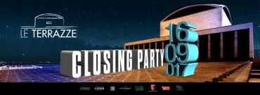 Le Terrazze sabato 16 settembre 2017 closing party
