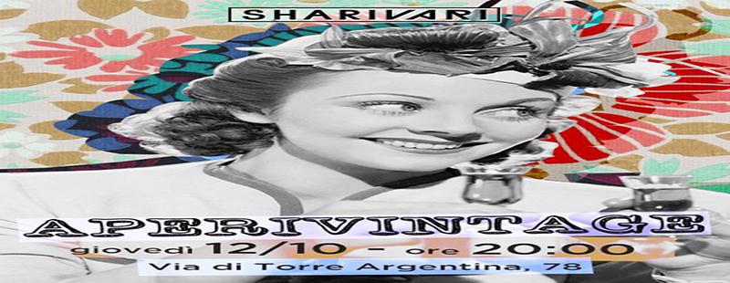 Shari Vari Roma: Cena servita apertiv disco giovedi 12 09 17