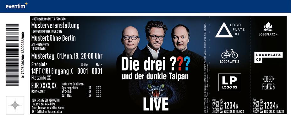 Jetzt Tickets Fur Die Drei Und Der Dunkle Taipan Jubilaumstournee Sichern Eventim