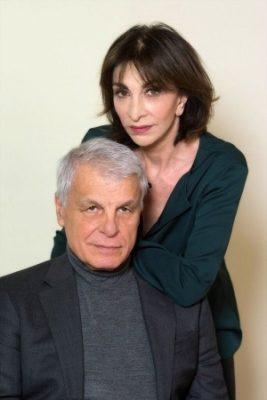 Michele Placido  e Anna Bonaiuto al Teatro Manzoni di Milano - in PICCOLI CRIMINI   CONIUGALI di ÉRIC-EMMANUEL SCHMITT