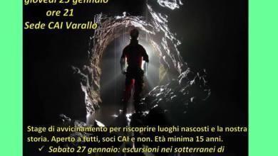 Photo of Terzo stage di speleologia a Varallo