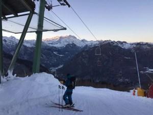 Sci Alpinismo Valsesia. Panorama dall'Alpe di Mera credit Eventi Valsesia by Occasioni Valsesia