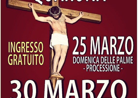 Venerdì Santo e Via Crucis 2018 Quarona