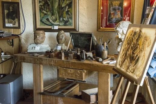 Attrezzi scultore