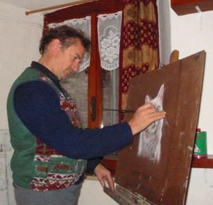 Eduardo Iborra al lavoro