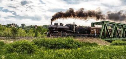 Treno storico a Prato Sesia, credit Ernesto Vivoli