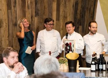 Cinzia Travaglini e gli chef