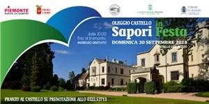"""Oleggio: """"Sapori in Festa"""" al Castello dal Pozzo"""