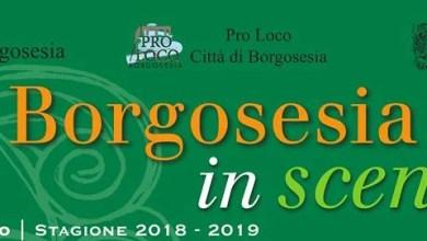 Photo of Borgosesia: Stagione teatrale 2018-19