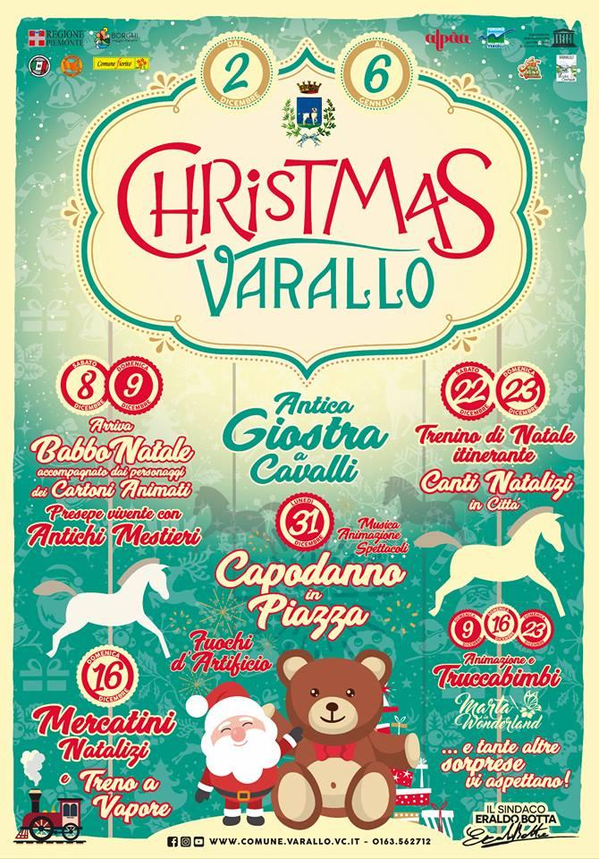 Christmas Varallo eventi dicembre 2018