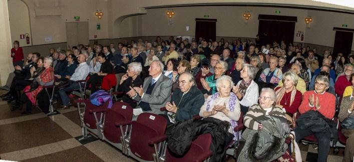 Pubblico presente al Concerto Coro l'Eco di Varallo