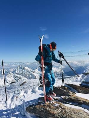 Fuoripista sul Monte Rosa