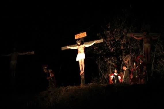 Gesù crocifisso ph credit Ass. Amici del Venerdì Santo Quarona