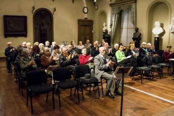Pubblico alla presentazione del programma Valsesia Musica 2019