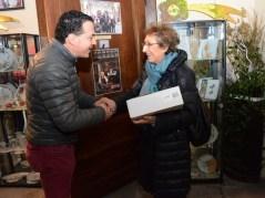 Sindaco e. Botta con Giuliana Zanotti