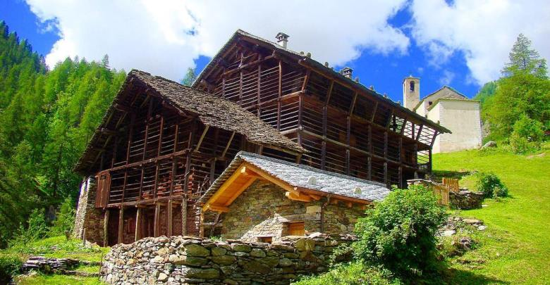 Casa Walser fr. Peccia Val Vogna