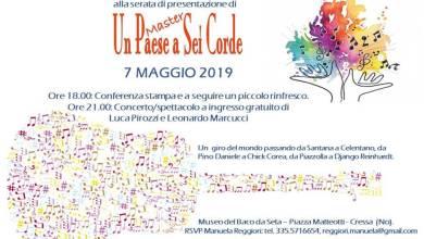 Concerto un paese a sei corde 7 maggio 2019