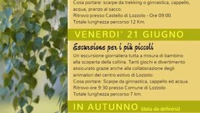 Escursioni Lozzolo programma 2019
