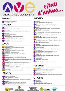 Eventi estate Alagna 2019