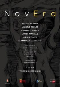 Locandina mostra NovEra 2019 Novara