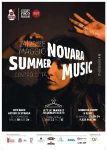 Novara Summer Music 2019 locandina