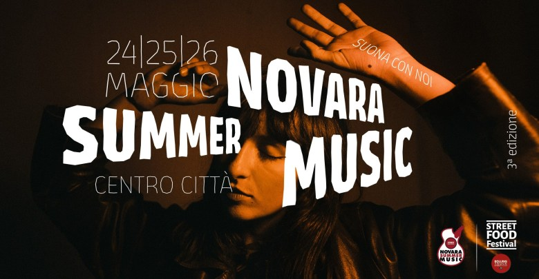 Locandina Novara Summer Music 2019
