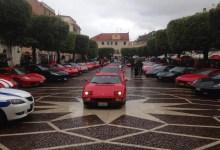 Photo of Una serravallese al raduno di Super Car in Liguria