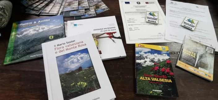 Attestati, distintivi e altri premi nuove guide Geoparco