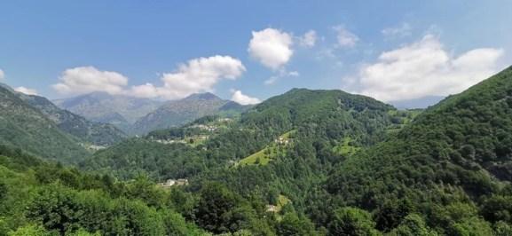 Panoramica su alcune frazioni di Fobello. credit Eventi Valsesia e dintorni