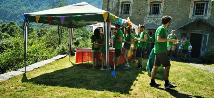 Tappa a Fr. Campelli Sentiermangiando 2019 credit Eventi Valsesia e dintorni