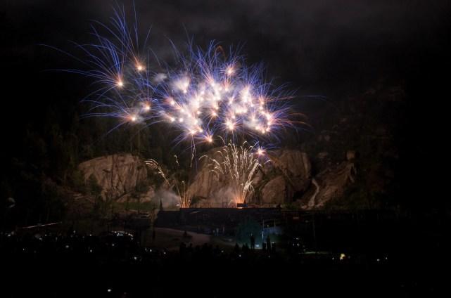 Vette d'artificio - Rassegna piromusicale in alta quota - Macugnaga - ph. Giancarlo Parazzoli