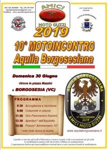 Volantino 10 Motoincontro AQUILA BORGOSESIANA 2019