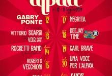 calendario concerti Alpàa 2019