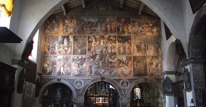 Chiesa Santa Maria delle Grazie Varallo.Credit Di Mattana - commons.wikimedia