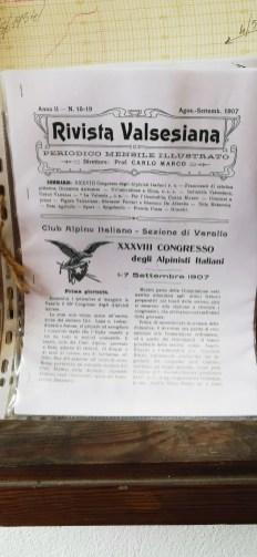 La Rivista Valsesiana nel 1907
