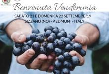 Benvenuta Vendemmia locandina 2019 Sizzano