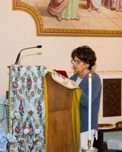 La priora Silvia Mazzone