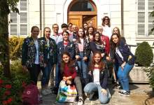 foto di gruppo progetto Il mondo a Gattinara